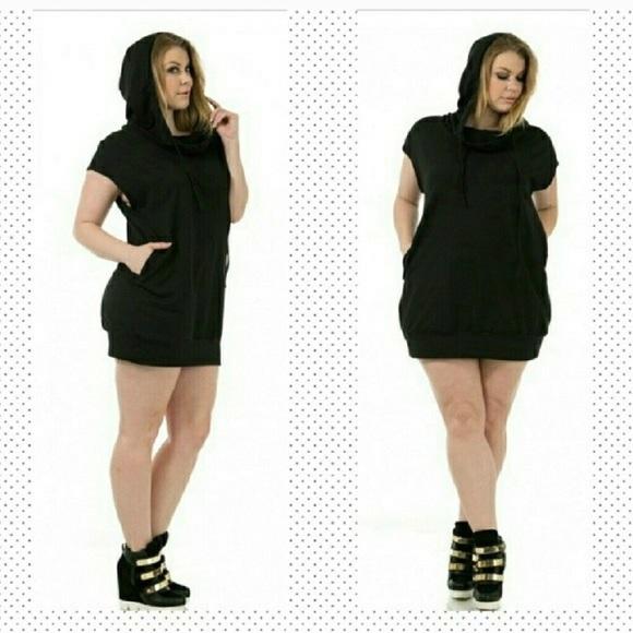 Dresses Plus Size Hoodie Dress Poshmark